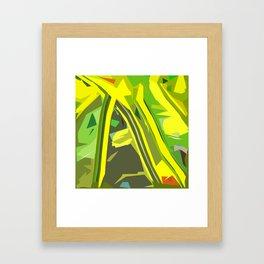 Gratitude Speedway Framed Art Print
