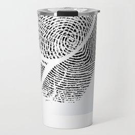 Fingerprint of a player Travel Mug