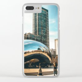Architecture mirror art Clear iPhone Case
