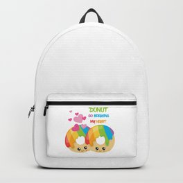 Donut go breaking my heart Backpack