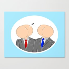 Talking Out Of Our Ass Canvas Print