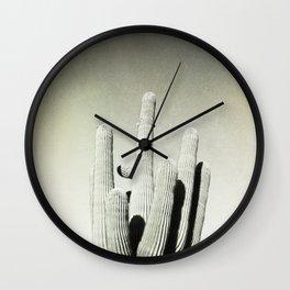 California photography, California Wall Art, Palm Springs,saguro Wall Clock