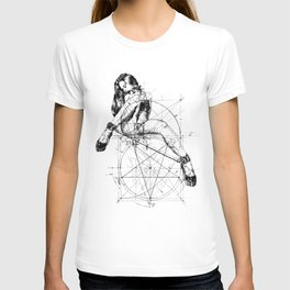 Samael Lilith and the Golden ratio T-shirt