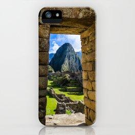 Doorways of Machu Picchu iPhone Case