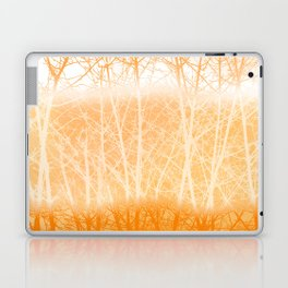 Frosted Winter Branches in Dusty Orange Laptop & iPad Skin