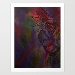 Owl 2009 Art Print
