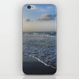 Summer sunset on the beach iPhone Skin