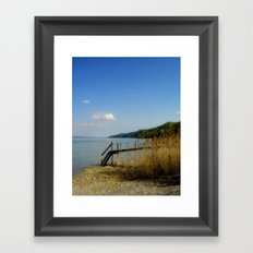 Lake of Constance Framed Art Print