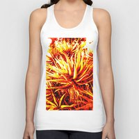 cacti Tank Tops featuring CACTI by Charles Harry Mackenzie