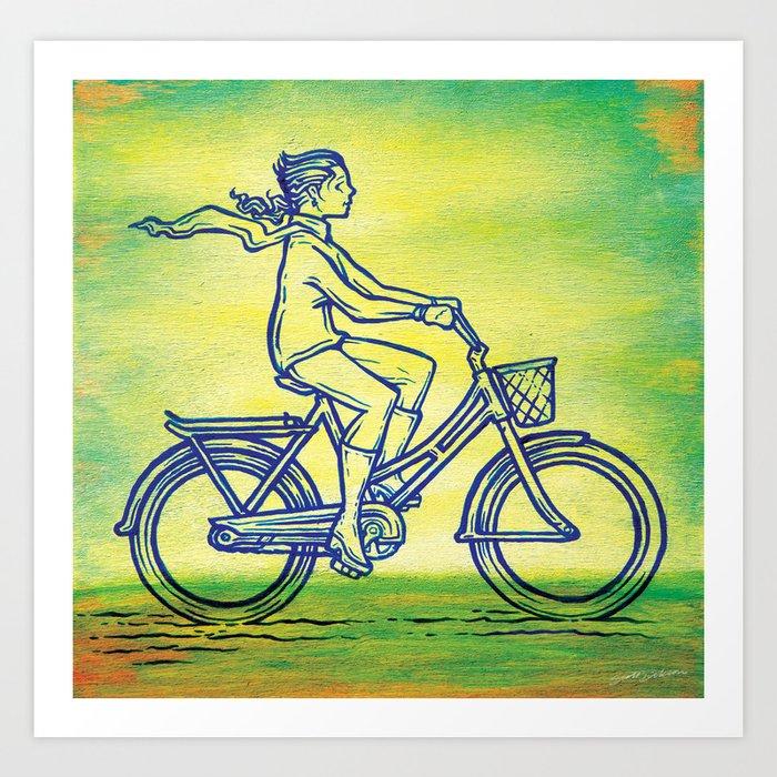 Bicycle 3 Art Print