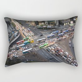 Gangnam at Rush Hour Rectangular Pillow