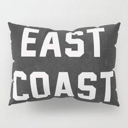East Coast - black Pillow Sham
