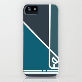 Life in Abstract iPhone Case