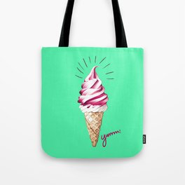 Yummy Ice Cream | Digital Art Tote Bag