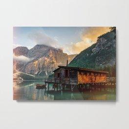Lake House I Metal Print