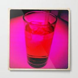 Pink Drink Metal Print