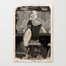 Bluto's Return Canvas Print