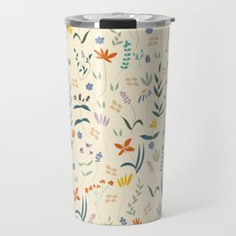 Retro Botanical Travel Mug