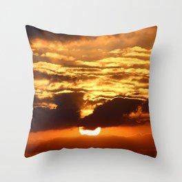 St John Fire Sky Throw Pillow
