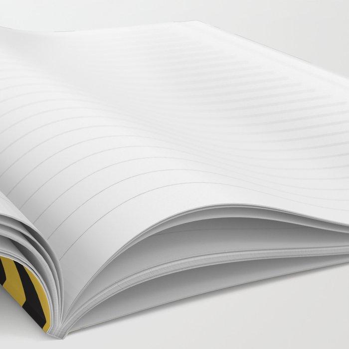mustard lines notebook by milatoo society6