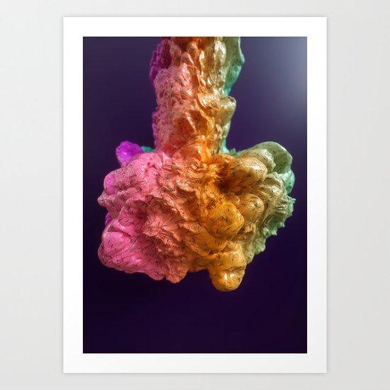 A Gum Art Print