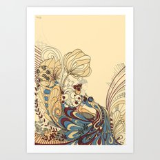 tulipa Art Print