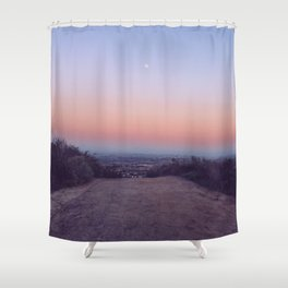 Pastel Path Shower Curtain