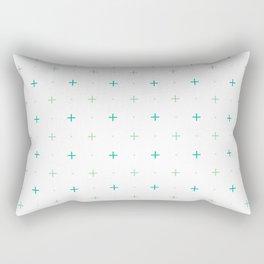 Mini Geo Cross Rectangular Pillow