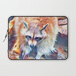 Aquarell Raccoon Laptop Sleeve