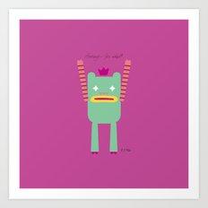 PINTMON_011 Art Print