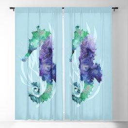 Mystical Seahorse Blackout Curtain