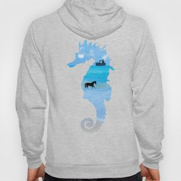 Seahorse - Dark Background Hoody