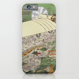 Beaumont the winner in Bleriot monoplane, Gnome engine, Bosch magneto iPhone Case
