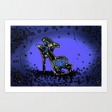 Glitter Glam Art Print