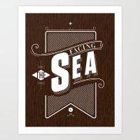 Facing The Sea Art Print