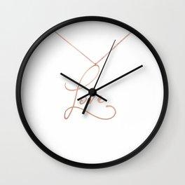 Love Pendant Wall Clock