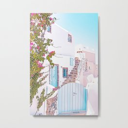 greece architecture Metal Print