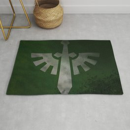 Repent! For tomorrow you die! Rug