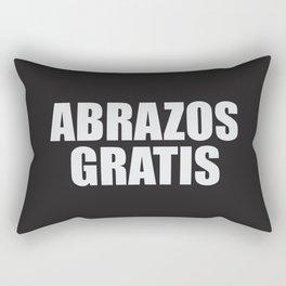 Abrazos Gratis Rectangular Pillow