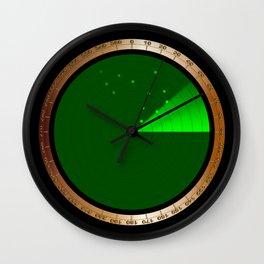 Detected Radar Wall Clock