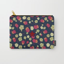 FLD Floral 1 Carry-All Pouch