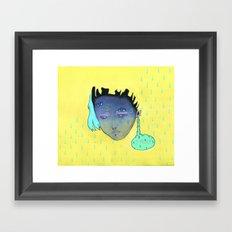 STRESSOLVE Framed Art Print