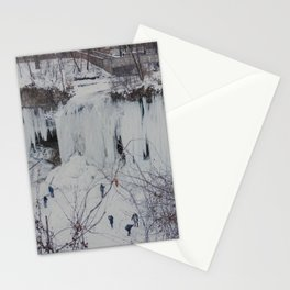 Frozen Waterfall Stationery Cards