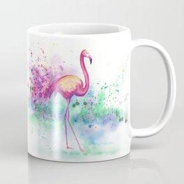 Messy Flamingo Coffee Mug