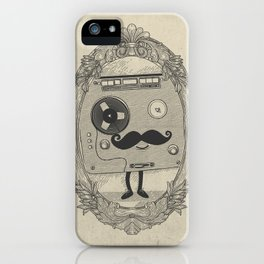 Old Time Story iPhone Case