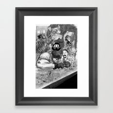 The Goon and Friends Framed Art Print