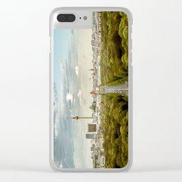Berlin skyline Clear iPhone Case