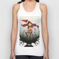 over the garden wall Tank Tops featuring Over the garden wall by Itzitxou