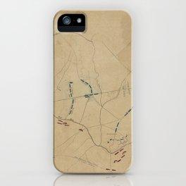 Battle of Bull Run 1861 iPhone Case