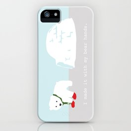 Snowbeary iPhone Case